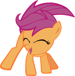 Scootaloo by Bocian3000