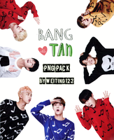 BTS PNG PACK By Weiting1122  by weiting1122