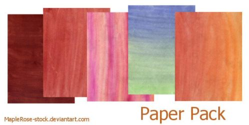 Paper texture pack by MapleRose-stock