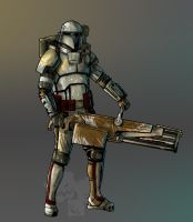 mandalorian heavy by oz-of-the-land