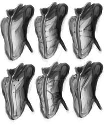 Quick ConceptArt-ing: Vest Jackets of the Future by darkwolfreturns