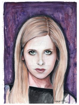 Buffy Summers by TheInklingGirl