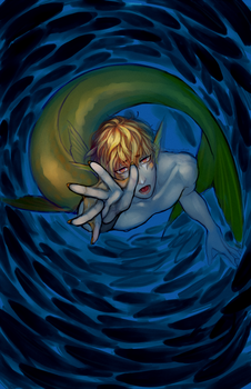 A-Gent: Mermay Prompt by toychild