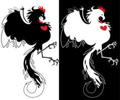 Love Cock T-Shirt Designs by WarBrown