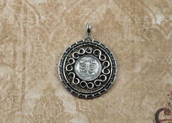 Sterling Silver Scorpion Medallion by FreiaInguz