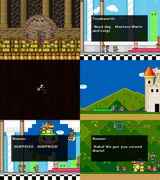 Super Mario Bros Doomsday Screenshots 2 (Nov 2013) by BuzzNBen