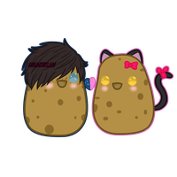 ZaneChan Potato (+speedpaint) by GoldenExus