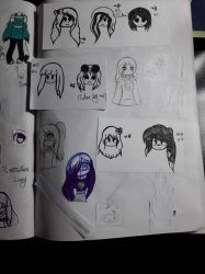 Page with Doodles(7) by SilviaPisiMiau