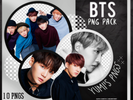 PNG PACK: BTS #5 by Hallyumi