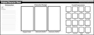 .:Character Sheet Blank:. by Dawnrie