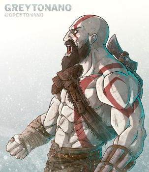 Kratos by Greytonano