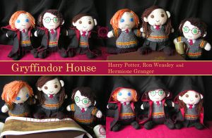 Gryffindors by prismtwine