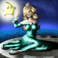 Rosalina and Luma by BrandiRoss