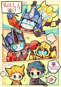 TRANSFORMERS FAS by GAiTOsan
