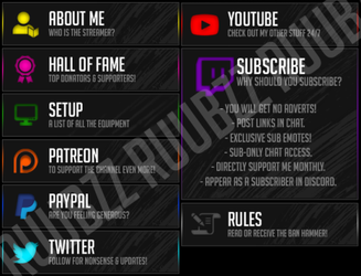 Twitch.TV/Utorak's Panels 2018. by smallruubzz