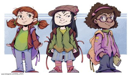 Backpack gang by shy4