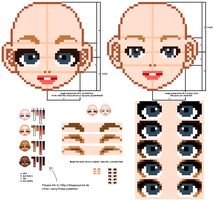 face tutorial -updated- by mouldyCat