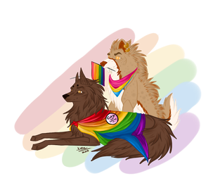 Pride Month by TheCaptainCrossy