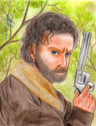Rick Grimes (The Walking Dead) by danielcamilo
