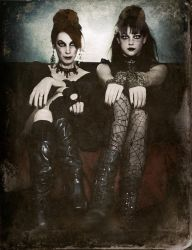 Sisters of the Sinister by SpokeninRed