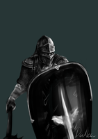 Thief - Shield bearer (study) by sneaky-dudke