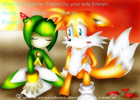 Tails x Cosmo_Don't Leave Me by renealexa