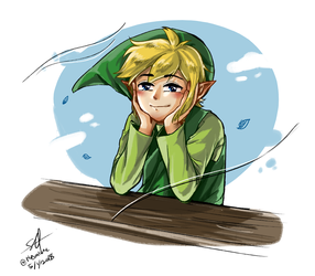 Hero of Wind by Nevalone