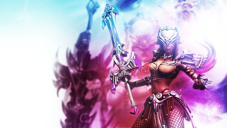 Smite - Nemesis Wallpaper [1920x1080] by Equilib