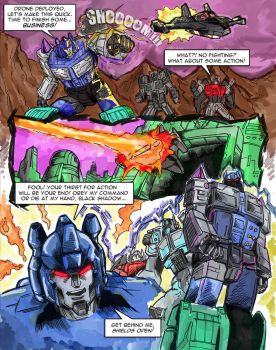 Transformers: Oblivion #3 page 2 by Optimus8404