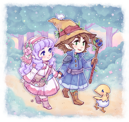 :: mini magical adventure by aprilovebird