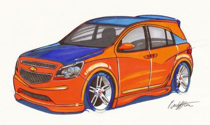 Chevrolet Agile Tuning by paulodesign