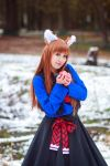 Holo and Apple, Spice and Wolf Cosplay by firecloak