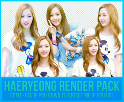 Haeryeong Render Pack by Know-chan