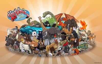 More Animals Than You Can Poke A Stick At by PrisonerOnEarth
