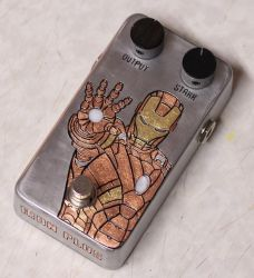Iron Man DIY guitar effect pedal by Woolf83