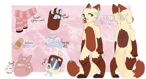 Kitty Ref 2018 by SpaceKittys
