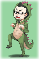You're makin' me angry...! by Master-chan