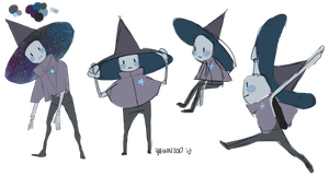 Witch Robot Child by GoatMomther