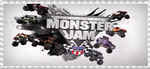 Monster Jam Stamp by Harejules