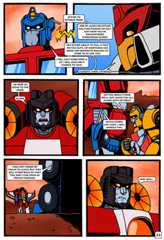 Transformers: Bloodline PAGE 23 by KingRebecca