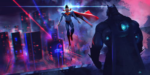 dawn of justice by cainulgen