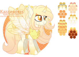 Honey Moth [CLOSED] by Kazziepones