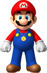 Mario with the Star Colar by Banjo2015