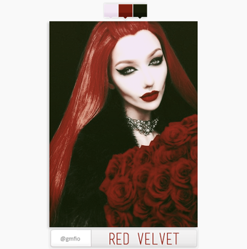 RED VELVET psd by gmfio