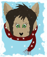 Winter Scarf by WolfMemories210