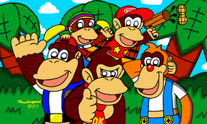 Donkey Kong 64 by MarioSimpson1