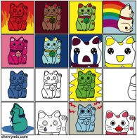 16 Cats by coconut-lane