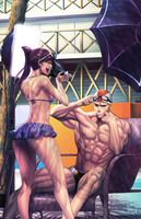 Street Fighter and Friends Swimsuit Special by PnzrK