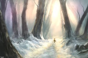 It's a lonely path for a lonely person by TomTC