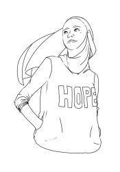 Wearing Hope by BashiQu
